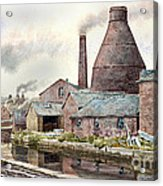 The Teapot Factory Acrylic Print