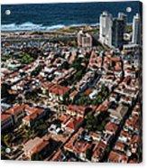 the Tel Aviv charm Acrylic Print