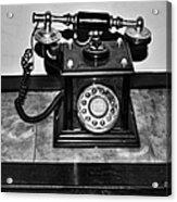 The Telephone Acrylic Print