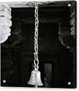 The Temple Bell Acrylic Print