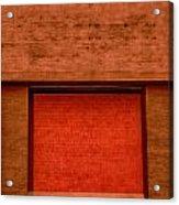 The Temple Door Acrylic Print