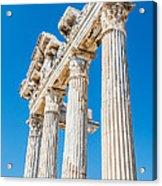 The Temple Of Apollo Acrylic Print by Luis Alvarenga