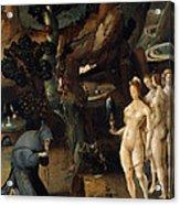 The Temptation Of Saint Anthony Acrylic Print