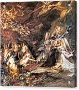 The Temptation Of St. Anthony Acrylic Print