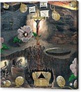 The Testimony Of Ron Wyatt - Ark Of The Covenant Acrylic Print