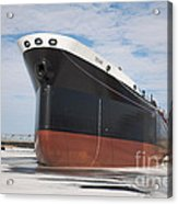 The Texas Cargo Ship Acrylic Print