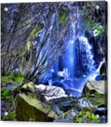 The Thawing Falls Acrylic Print
