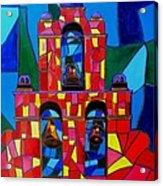The Three Bells Of San Jose Mission Acrylic Print