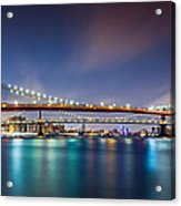 The Three Bridges Acrylic Print