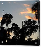 The Three Minarets Acrylic Print