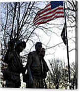 The Three Soldiers - Vietnam War Memorial Acrylic Print