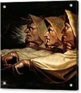The Three Witches Acrylic Print