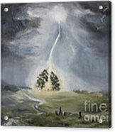 The Thunder Storm Acrylic Print