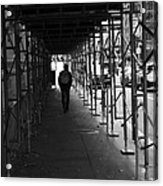 The Time Tunel Acrylic Print