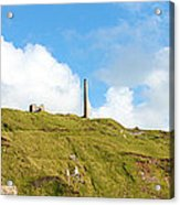 The Tin Mines Of Cornwall Acrylic Print