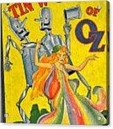 The Tin Woodsman Of Oz Acrylic Print