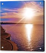 The Tip Of The Thumb Acrylic Print