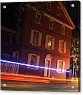 The Todd House Philadelphia Acrylic Print