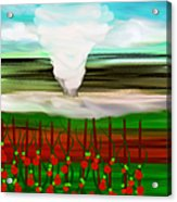The Tomatoes And The Tornado Acrylic Print