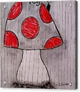 The Tomboy Princess Acrylic Print by Denisse Del Mar Guevara