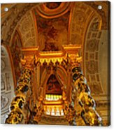 The Tombs At Les Invalides - Paris France - 011324 Acrylic Print by DC Photographer