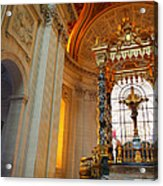 The Tombs At Les Invalides - Paris France - 01135 Acrylic Print by DC Photographer