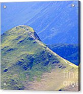 The Top Of Catbells In The Lake District Acrylic Print