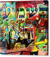 the Torah is aquired with attentive listening 11 Acrylic Print