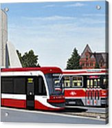 The Toronto Streetcar 100 Years Acrylic Print