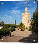 The Torre Del Oro, Gold Tower, Military Acrylic Print