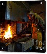 The Torresta Blacksmith Acrylic Print