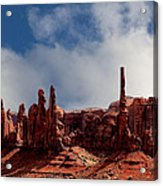 The Totems Monument Valley Acrylic Print