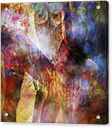 The Touch Acrylic Print