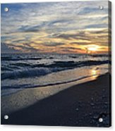 The Touch Of The Sea Acrylic Print