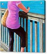 The Tourist Acrylic Print