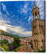 The Tower Of Hvar Acrylic Print
