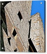 The Towers Of San Gimignano Acrylic Print