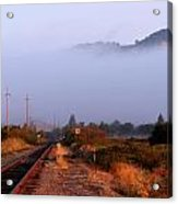 The Track To Burdell Acrylic Print