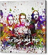 The Tragically Hip In Color Acrylic Print