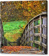 The Trail Arches On Acrylic Print