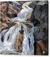 The Trail Series - Waterfalls Acrylic Print