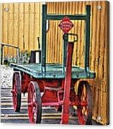 The Train Cart Acrylic Print