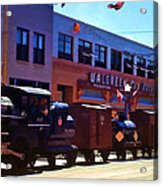 The Train In The Parade Acrylic Print