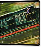 The Train Ride Acrylic Print