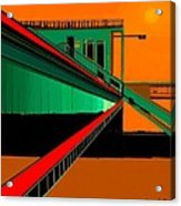 The Train Station  Number 9 Acrylic Print