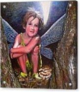 The Tree Fairy Acrylic Print