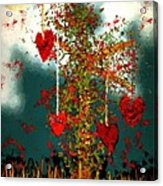 The Tree Of Hearts Acrylic Print