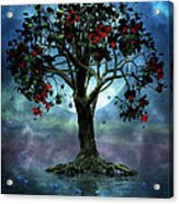 The Tree That Wept A Lake Of Tears Acrylic Print