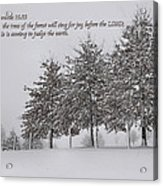 The Trees Acrylic Print