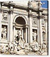 The Trevi Fountain - Rome - Italy Acrylic Print